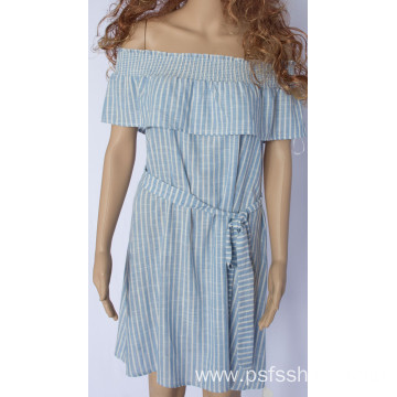 Summer Single Collar Dress